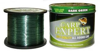 Волосінь Carp Expert Dark Green 1200м 0.35 мм