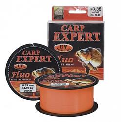 Волосінь Carp Expert Fluo Orang 300м 0.40 мм