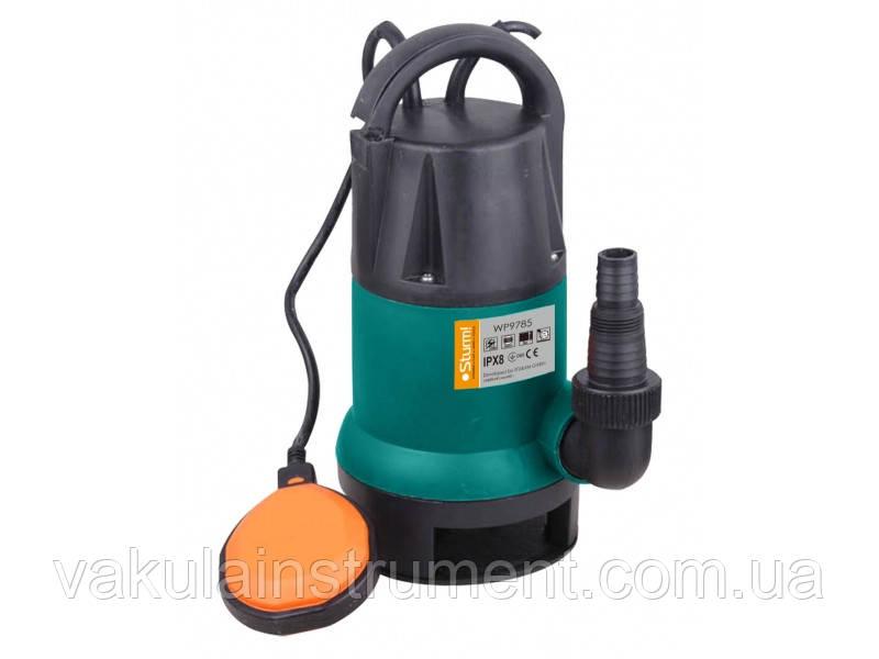Погружной насос для брудної води( 850 Вт) Sturm WP9785