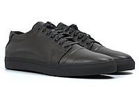 Коричневые кожаные кроссовки кеды мужская обувь больших размеров Rosso Avangard Gushe Brown TPR BS, фото 1