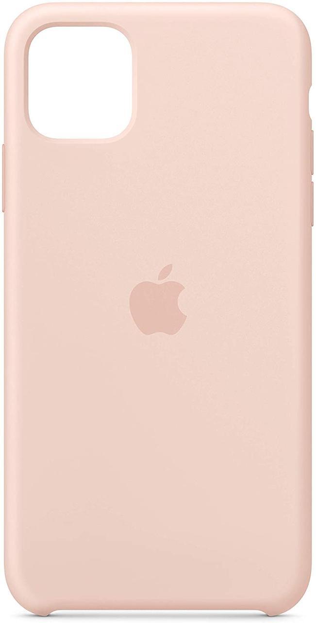 Чохол для  Iphone 11 Original copy / Світло рожевий
