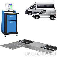 Діагностична лінія 4 т/вісь Safelanepro II PC K 4 HOFMANN Німеччина, фото 1