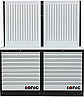 Верстак слюсарний двотумбовий з перфорацією MSS 4731703 Sonic Голландія
