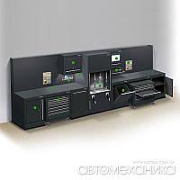 Модуль 2 - рабочий кабинет на 2 поста DURA Англия, фото 1