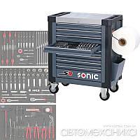 Тележка S9 с набором инструментов 191 пр. Sonic Голландия