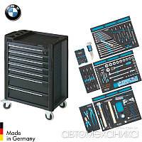 Дилерский набор инструментов BMW 157 предметов в тележке Hazet Германия