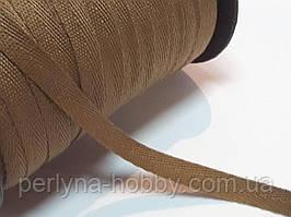 Киперная тесьма лента, киперка. Кіперка, кіперна стрічка, темна охра 10 мм