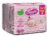 Влажные салфетки Smile Baby для новорожденных, 216 шт