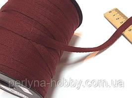 Киперная тесьма лента, киперка. Кіперка, кіперна стрічка, бордова 10 мм