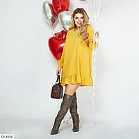 Жіноче молодіжне плаття до коліна вільного крою р-ри 42-46 арт 813, фото 1