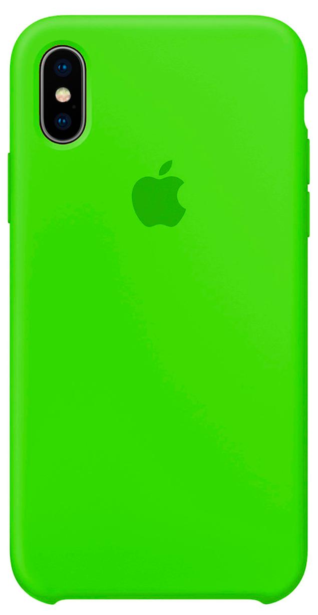 Чохол для  Iphone Xs Max Original copy / Салатовий