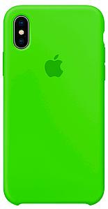 Чехол для  Iphone  Xs Max Original copy / Салатовый