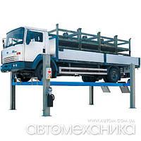 Подъемник 4-х стоечный 8 т для грузовиков RAV Италия