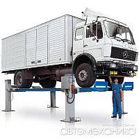 Подъемники 4-х стоечные 12-24 т для грузовиков RAV Италия