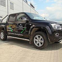 Молдинги на двері для Volkswagen Amarok 2010-2016