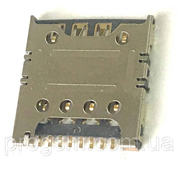 Сим коннектор для Samsung S5282, S5310, S5312, S6790, S7262, S7390, S7392, G130, G313H, G3