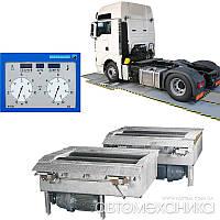 Вантажний гальмівний стенд 20 т/вісь Safelane truck N SC 20 t HOFMANN Німеччина