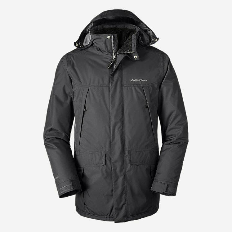 Куртка Eddie Bauer Mens Rainfoil Insulated Parka Carbon Reg XL