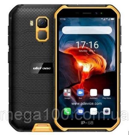 Смартфон Ulefone Armor X7 цвет оранжевый (экран 5 дюймов, памяти 4/32, акб 4000 мАч, NFC)