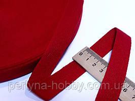 Киперная тесьма лента, киперка. Кіперка, кіперна стрічка, червона 20 мм (2 см)