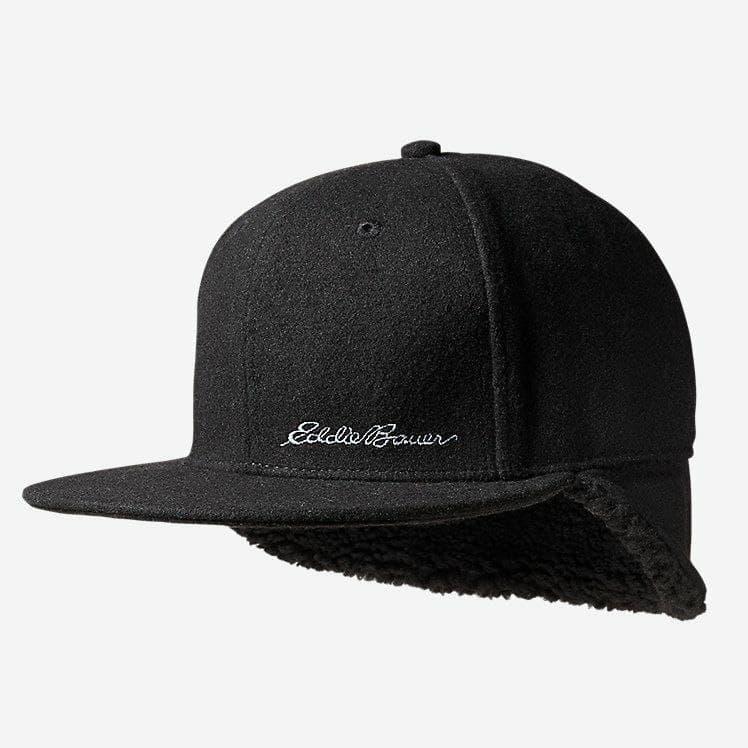 Кепка Eddie Bauer Flap Cap-Flat Brim Wool Black L