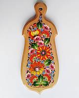 Доски кухонные петриковская роспись , желудь .15×34×1,5 см., фото 1