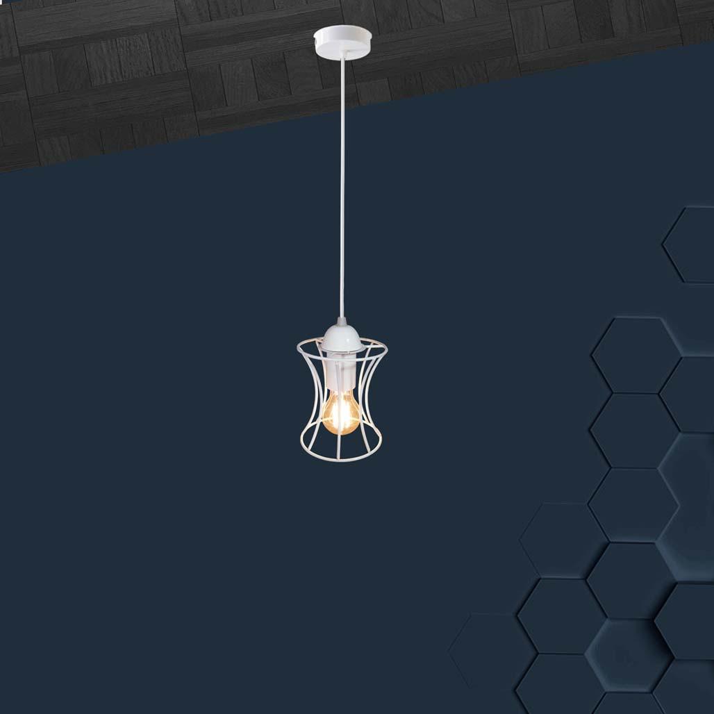 Подвесной светильник SANDBOX E27 белый