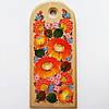 Доска разделочная кухонная петриковская роспись