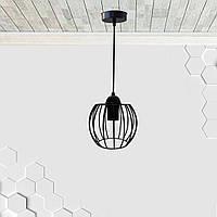Подвесной светильник BARREL E27 чёрный, фото 1