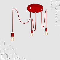 Подвесная люстра на 2-лампы SANDBOX-2 E27 чёрный, фото 1