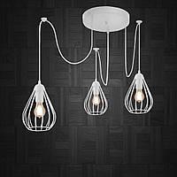 Подвесная люстра на 3-лампы FANTASY/SP-3W E27 белый, фото 1