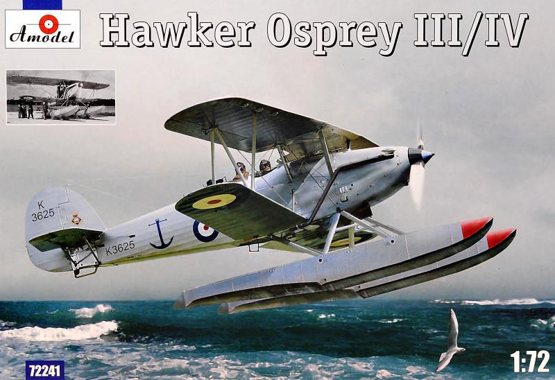 Самолет-разведчик Хоукер Оспри III/IV (Hawker Osprey). 1/72 AMODEL 72241
