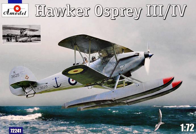 Самолет-разведчик Хоукер Оспри III/IV (Hawker Osprey). 1/72 AMODEL 72241, фото 2