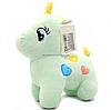 Мягкая игрушка «Пони» - единорог (световые эффекты) мятный 25х9х20 см (M064)