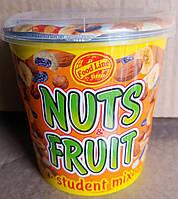 Nuts Fruit микс орехов изюма и сушеных бананов 225g