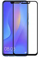 Защитное стекло для Huawei P Smart Plus черное