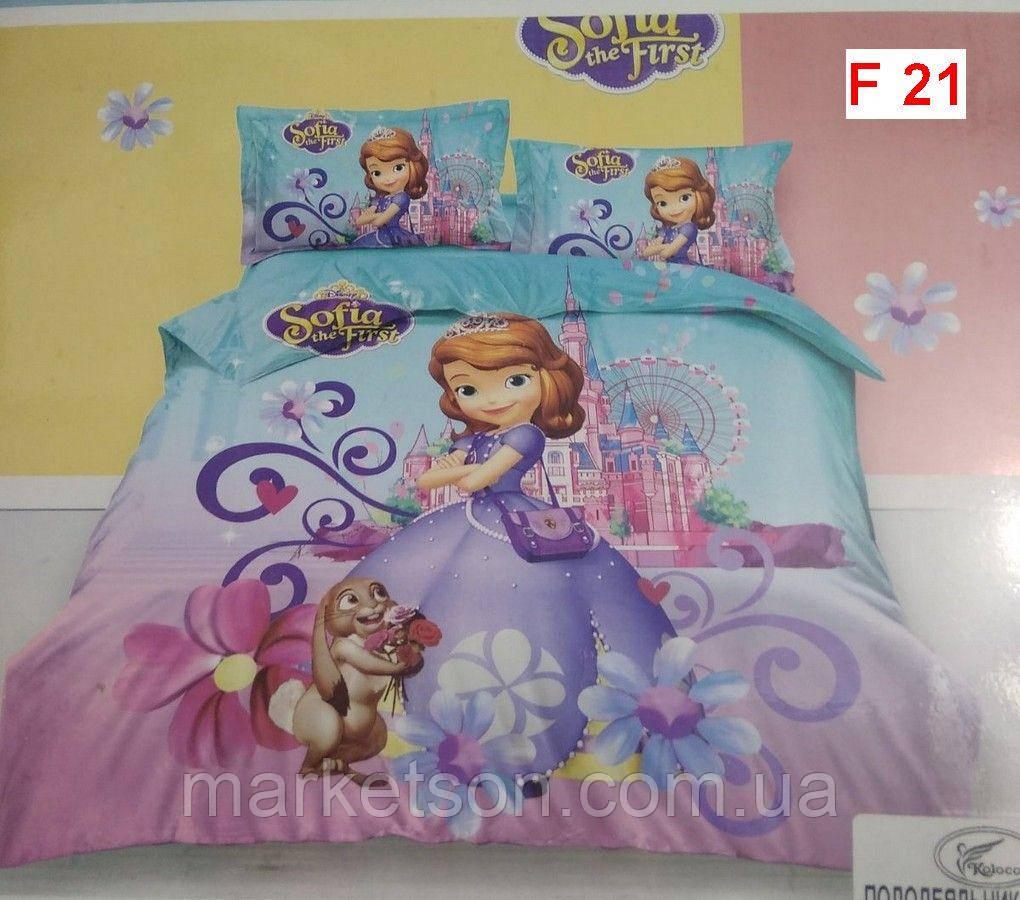 Детское постельное белье 5D Фланель байка.