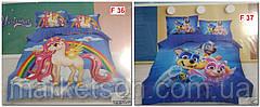 Дитяче постільна білизна 5D Фланель байка., фото 2