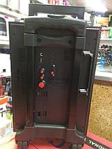 Колонка валізу з мікрофоном Golon RX-2900BT - портативна Bluetooth колонка комбік з радіо і світломузикою, фото 3