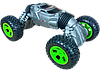 Машинка перевертыш на радиоуправлении Twist Climbing Car RQ-2023 - трюковый вездеход, трансформер 40 см Серая, фото 5