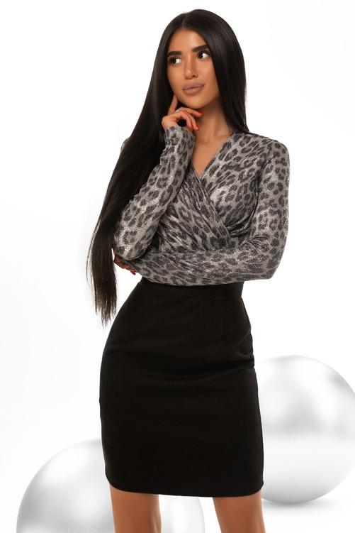 Модне облягаючу сукню Замш/Біфлекс 42,44,46,48 розмір