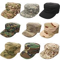 Популярные в этом сезоне кепки военного стиля. Высокое качество. Головной убор. Практичная кепка. Код: КД30, фото 1