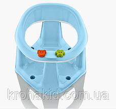 Дитяче сидіння для купання BM-50305 на присоску, в коробці, фото 2