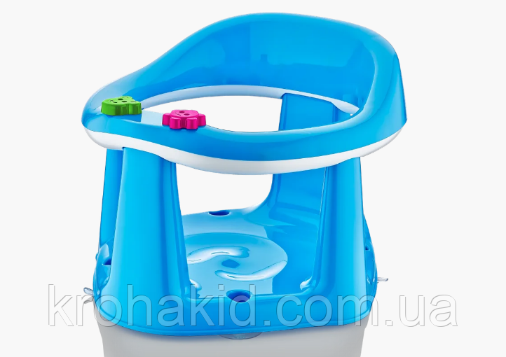Дитяче сидіння для купання BM-50305 на присоску, в коробці