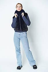Куртка из меха норки и трикотажа, размеры 42-48