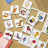 """Логические игры """"Подбирай по содержанию"""" 24 карточки укр. 918003, фото 3"""