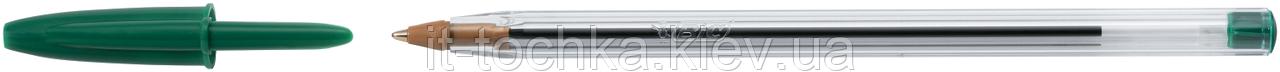 "Ручка кулькова ""cristal"", зелена, 50 шт/уп bc8373629"
