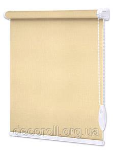 "Рулонная штора на окно из ткани Льон - ""Decoroll"" - цена от 0.5 кв.м"
