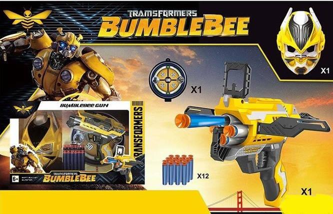 Ігровий набір Бамбли Трансформери з маскою, трубкою і зброєю ABC, фото 2
