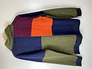 Реглан мужской Scotch & Soda цвет зеленый-синий-красный размер L арт 10153116-FWMM-D40, фото 5